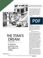 The Titans dream Dungeon Magazine - 002