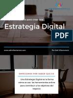 Los primeros pasos para crear una estrategia digital