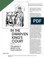 In the dwarven kings court Dungeon Magazine - 002