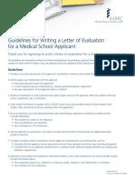 Letters Guidelines Brochure