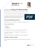 Content-Marketing-Module-1-Notes