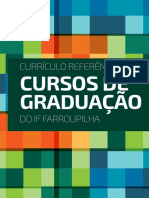 Catálogo de cursos de graduação