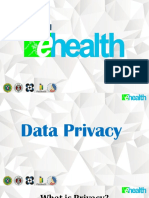 Ehealth data privacy act of the philippines