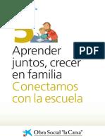 manual para integrar al los padres en las actividades de los niños