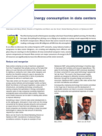 Energy Consumption in Data Centers