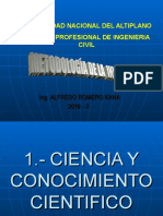 1.- Ciencia y conocimiento cientifico.ppt