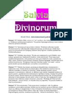 Rośliny szamańskie - Salvia Divinorum