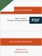 SEM 01 - Introducción al curso de Educación Ambiental