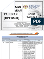 RPT Sains Tahun 1