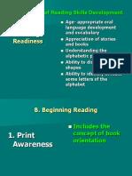 UUUUUUU8888818Major Stages of Reading Skills Development