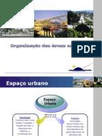 Organização das areas urbanas