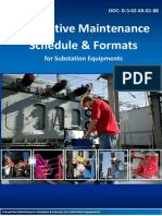 Preventive Maintenance Schedule  Formats for Substation Equipments Sep 17 01-08