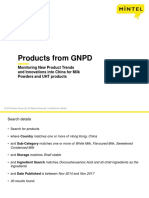 China Market new milk powder and UHT products.ppt