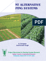 Efficient Alternative Cropping Systems (BOOK)