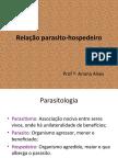 Aula 2 Relação parasito-hospedeiro