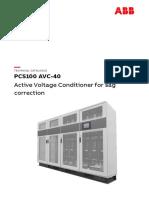 PCS100-AVC-40-Technical-Catalogue