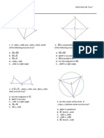 Congruency of triangles, angles, and segments
