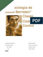 """Segundo Borrador """"La Sociología de Basile Bernstein"""""""
