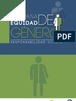 CARTILLA EQUIDAD DE GÉNERO