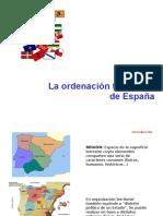 Ordenación territorial de España