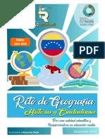 Orientaciones para el Reto Estudiantil de Geografía, Historia y Ciudadanía (GHC) 2019-2020
