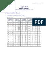 Appendix B - Limits and Fits (Final)