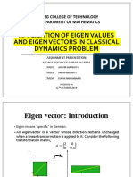 Assignment Presentation on Eigen Vector.pptx