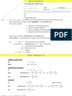 Error Analysis     .ppt