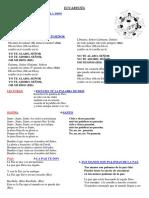Canciones Eucaristía 2017-2018