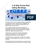 50 Pips strategy