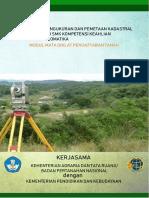 1. Modul Pendaftaran Tanah