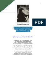 Anna Ahmatova - Poezii