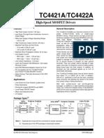 TC4421-22 Datasheet