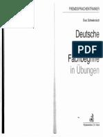 Deutsche juristische Fachbegriffe in Übungen