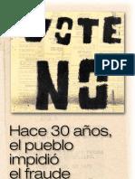 Folleto del PIT-CNT de 1980