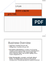 Creativity Crew - Business Plan pdf