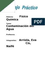Contaminacion Del Agua.