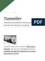 Tunnelier — Wikipédia