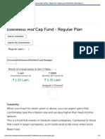 Edelweiss Mid Cap Fund - Regular Plan _ Regular plan _ Mutual Fund _ Value Research