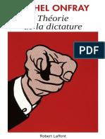 EBOOK Onfray Michel - Theorie de la dictature