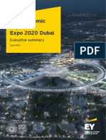 Ey the Economic Impact of Expo 2020