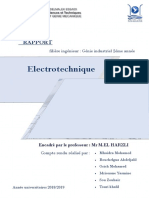 Electrotech rapport