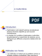 Optimisation multicritères