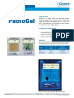 PathoGel brochure