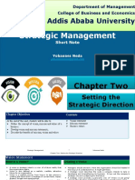 Strategic Management CH-2