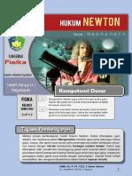 UKBM Fis 3.7 Hukum Newton