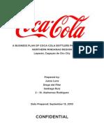 Coke Zero Sample Business Plan
