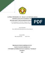 Laporan Pendahuluan Triase dan Primary Survey di Instalasi Gawat Darurat RSUD Pasar Minggu