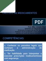 CALCULO DE MEDICAMENTOS