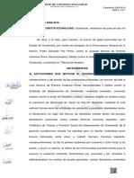 2008-2018 ocurso de queja prescinde periodo probatorio